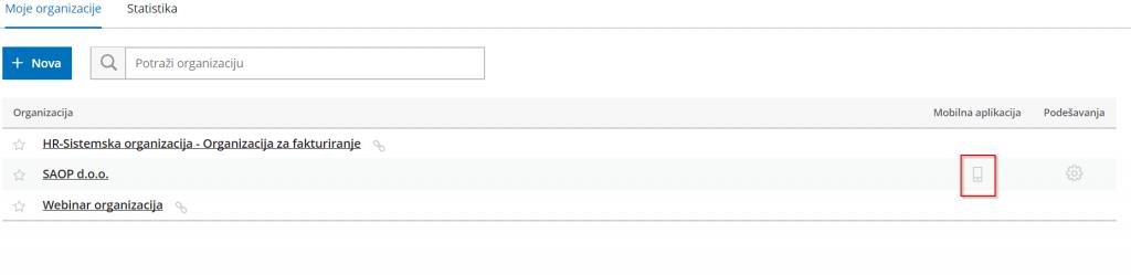 nova aplikacija za povezivanje spojite kratice